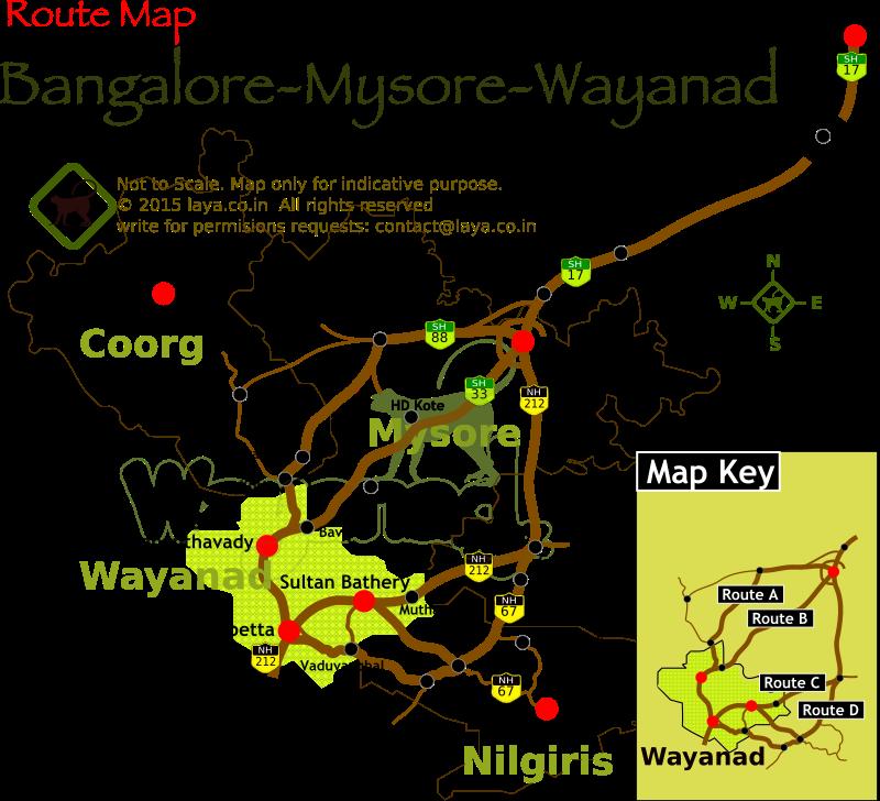 Bangalore To Mysore Route Map Bangalore Mysore Wayanad Route Map | Bangalore Mysore Wayanad